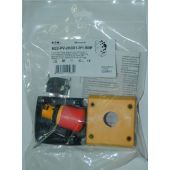 Hätä-/seis painike RMQ-TITAN - M22-PV-2KC01-IY1-BVP - Eaton