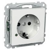 Pistorasia Exxact - 1S/16A/IP21 UKJ LED VAL - Schneider Electric