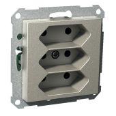 Pistorasia Exxact - 3E/16A/IP21 0X UKR MET - Schneider Electric