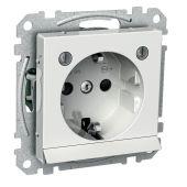 Pistorasia Exxact - 1S/16A/IP21 UKJ LED AV VAL - Schneider Electric