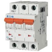 Johdonsuojakatkaisija Xpole - PLS6-C63/3-MW - Eaton