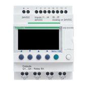 Ohjelmoitava rele Zelio - SR 12 I-O 100-240 VAC - Schneider Electric