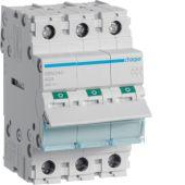 Kuormankytkin vipu - SBN340 0-1 3N 40A 400VAC DIN - Hager