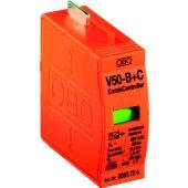 Ylijännitesuojatarvike TBS - V50-B+C 0-280, moduli - OBO Bettermann