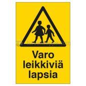 Merkintäkilpi SWM Kilpipussi - LEIKKIVIÄ LAPSIA 200X300 MU - SWM