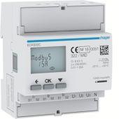 Energiamittari - ECR300C  3v virtam. 5A MODBUS - Hager