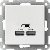 Telerasia Exxact - USB-latauspistorasia 2,1 VAL - Schneider Electric