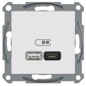 Telerasia Exxact - USB-lataus PR. A+C 2,4 A VAL - Schneider Electric