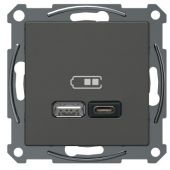 Telerasia Exxact - USB-lataus PR A+C 2,4 A ANT - Schneider Electric