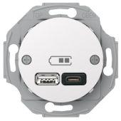 Telerasia Renova - USB-lataus PR A+C 2,4 A VAL - Schneider Electric