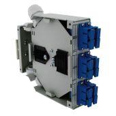 Kytkentäkotelo - DIN FO BOX 6 SC Duplex  SM - Gigamedia