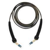 Kytkentäkaapeli-kuitu - LC rubber/LC rubber 2SMT 50m - Naficon