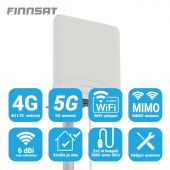 Antenni - 5G/4G/3G/GSM MIMO 2x2m SMA-U - Finnsat