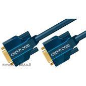 Liitosjohto Clicktronic Casual - Clicktronic VGA-välij. 1,0 m - Clicktronic