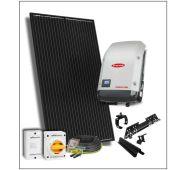 Aurinkosähköjärjestelmä - 3,1 kWp  konesaumakatto - GEF