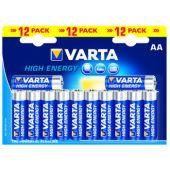 Paristo alkali - Longlife Power  AA, 12kpl - Varta