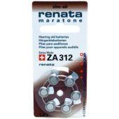 Paristo kuulokoje Renata Maratone - ZA312, PR41 /Bp6 1,4V/180mAh - Renata