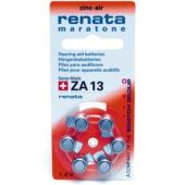 Paristo kuulokoje Renata Maratone - ZA13, PR48 /Bp6 1,4V/310mAh - Renata