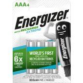 Akku NiMh Extreme - RECH AAA 800mAh 4p - Energizer