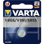 Paristo hopeaoxidi Special - V 8 GS / 391 (SR 55) - Varta