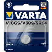 Paristo hopeaoxidi Special - V 10 GS / 389 (SR 54) - Varta